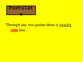 Unit 1 Lesson 4: Postulates and Theorems Relating Points, Lines, and Planes