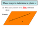 Unit 1, Lesson 4: Postulates and Theorems Relating Points,