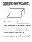 Unit 1 Lesson 4: Postulates and Theorems Relating … Worksheet