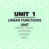 Unit 1: Linear Functions