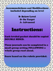 Unit 1 Main Selection Differentiated Journal- Grade 1 Reading Street 2013