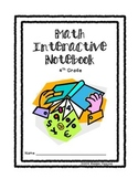 Unit 1 Math Interactive Notebook- Place Value