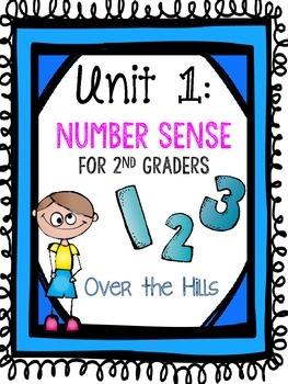 Unit 1 Math: Number Sense for Second Grade