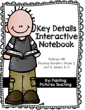 Unit 1 McGraw-Hill Reading Wonders Key Details Interactive Notebook