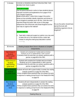 Unit 1 Module B Lesson 12 ReadyGEN Grade 3
