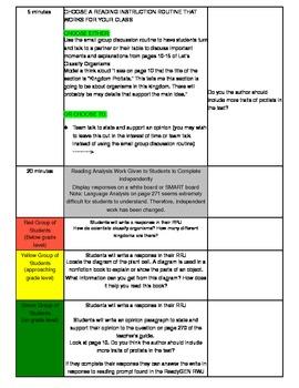 Unit 1 Module B Lesson 13 ReadyGEN Grade 3