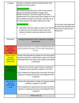Unit 1 Module B Lesson 14 ReadyGEN Grade 3