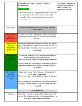 Unit 1 Module B Lesson 15 ReadyGEN Grade 3