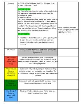 Unit 1 Module B Lesson 18 ReadyGEN Grade 3