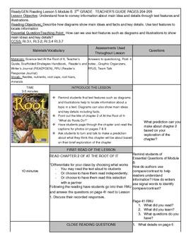 Unit 1 Module B Lesson 5 ReadyGEN Grade 3