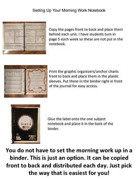 Unit 1 Morning Work Sample