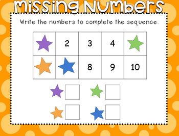 Unit 1: Number Sense for Kindergarten