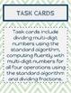 Unit 1-Number System Fluency Task Cards
