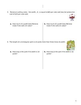 Unit 1 Obj 5: Evaluate Algebraic expressions and formulas