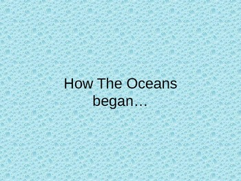 Unit 1 Ocean Beginnings and Basics