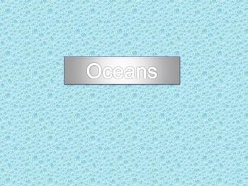 Unit 1 Ocean Beginnings and Basics