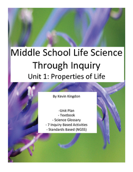 Unit 1: Properties of Life and Classification PDF