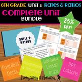 Unit 1: Ratios and Rates - Complete Unit Bundle