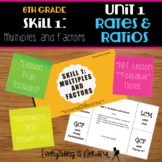 Unit 1: Ratios and Rates, Skill 1: Multiples and Factors Resources