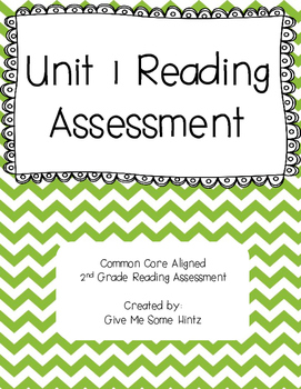 Unit 1 Reading Assessment