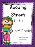 Unit 1, Reading Street, 2nd Grade, Centers and Printables