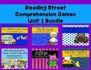 Unit 1 Comprehension Game Bundle