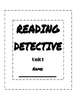 Unit 1 Reading Street Sleuth Activities