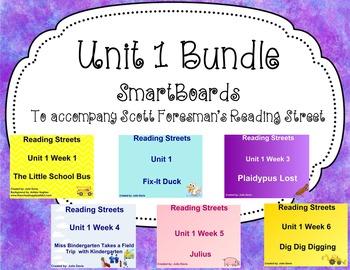 Unit 1 Bundle SmartBoard Companion Kindergarten