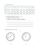 Unit 1 Review - Grade 3 Everyday Mathematics (Edition 4)