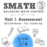 Unit 1 SMATH Test and QR Code Review (Split Grade Resource 3/4)