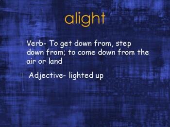Unit 1 Sadlier Vocabulary Workshop PowerPoint (Level B)