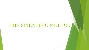 Unit 1 Scientific Method and Lab Safety