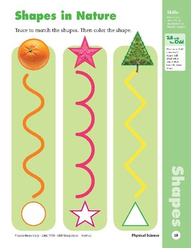Unit 1: Shapes All Around (Skill Sharpeners: Science)