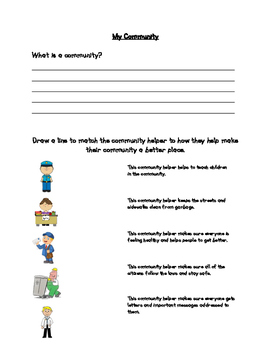 Unit 1 - Social Studies Assessment (People and the Community)