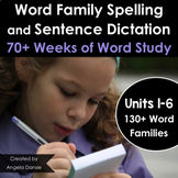 Word Family Spelling and Word Study for Special Education and Intervention
