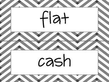 Wonders Unit 1 Spelling Word Cards