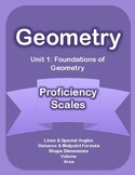 Unit 1 - Foundations of Geometry Proficiency Scales