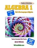 Algebra 1: The Language of Algebra