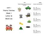 Unit 1 Treasures Tri-fold (kindergarten)