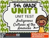 Unit 1 Unit Test – Indigenous Cultures of the Americas