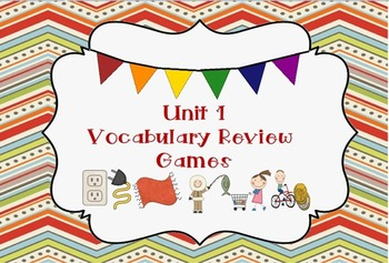 Unit 1 Vocabulary Review Games