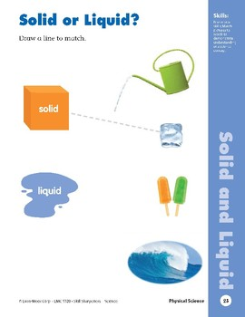 Unit 1: Water and Ice (Skill Sharpeners: Science)