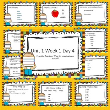 Wonders First Grade Unit 1 Week 1