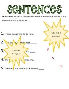 Unit 1 Week 1 Grammar PowerPoint