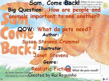 Unit 1 Week 1 - Sam, Come Back! - Lesson Bundle (Versions 2013, 2011, and 2008)