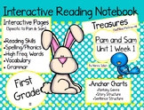CA Treasures • Pam and Sam • Interactive Notebook • Unit 1 Week 1