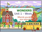 Unit 1 Week 1 to Compliment Wonders