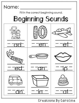Unit 1 Week 2. Kindergarten Centers. We Are So Proud! Centers/Worksheets