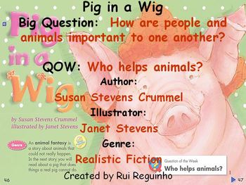 Unit 1 Week 2 - Pig in a Wig - Lesson Bundle (Versions 2013, 2011, and 2008)