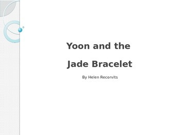 Unit 1, Week 2 Reading Wonder Vocabulary (Yoon & the Jade